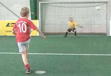 Fußball in der Sportalm Scheidegg